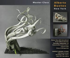 Class with Alberto Bustos