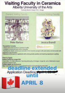 Alberta University of the Arts position post
