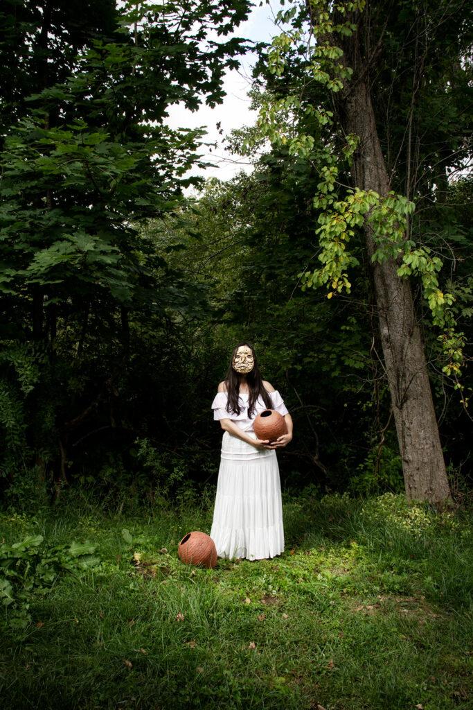 "Natalia Arbelaez, ""Ceremonies for González, Figure"""