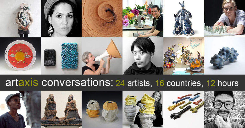 Artaxis Conversations: 24 artists, 16 countries, 12 hours