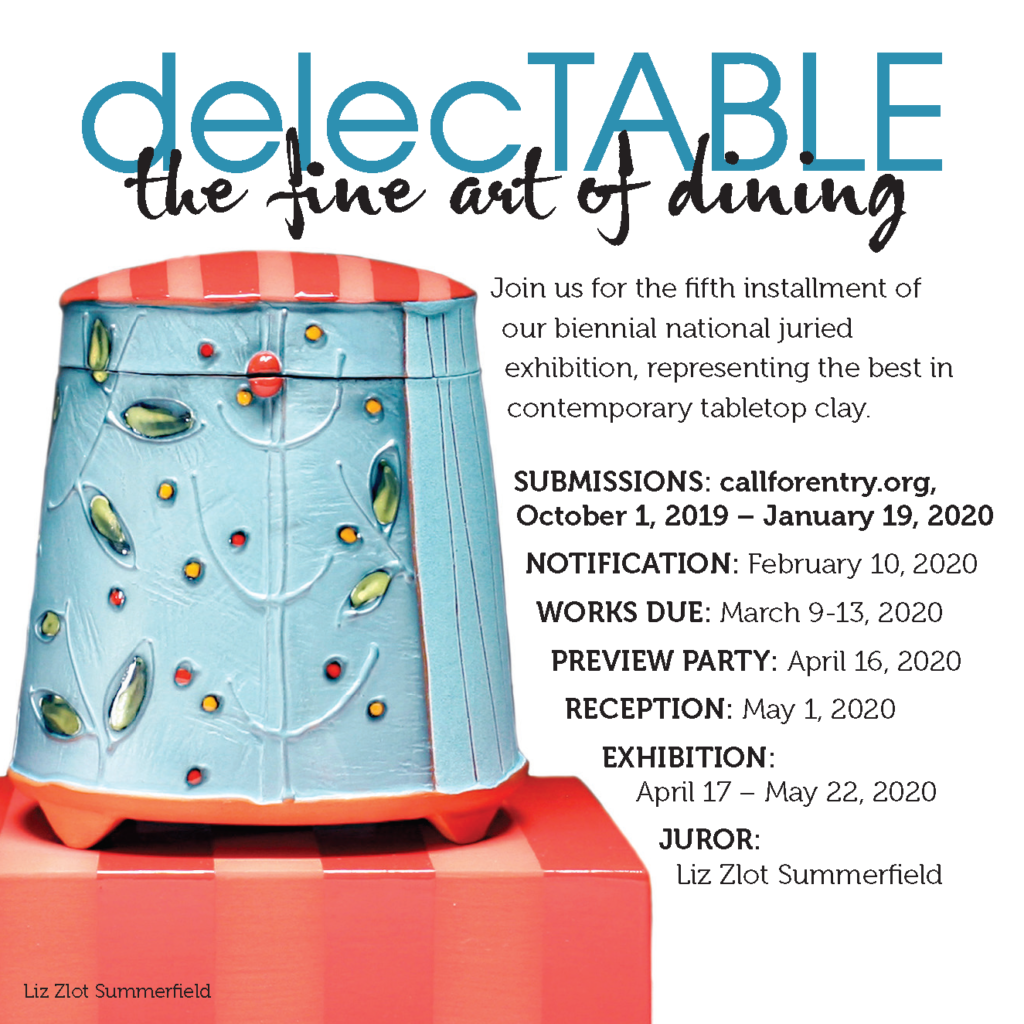Delectable Call for Entries Flyer