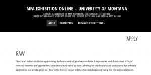MFA Online Exhibition