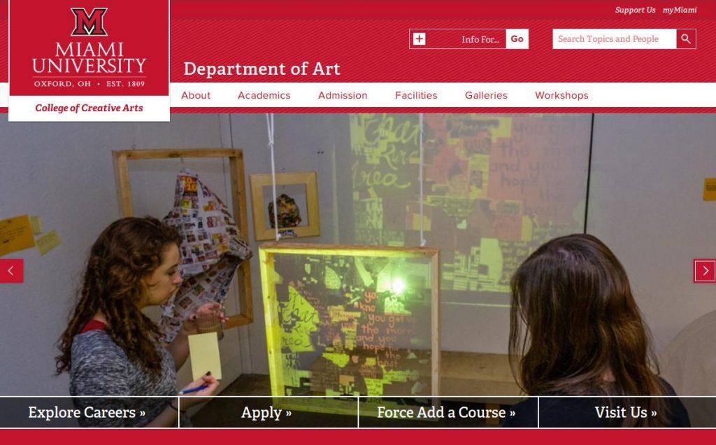 Miami University Department of Art