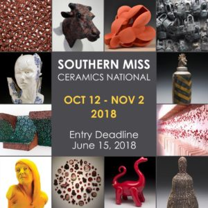 2018 Southern Miss Ceramics National