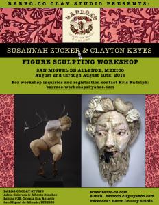 Clayton Keyes and Susanah Zucker workshop image